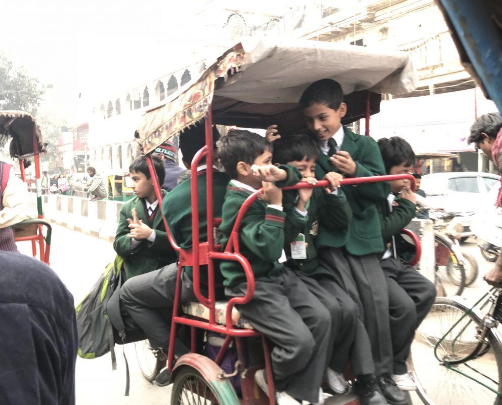 Rickshaw, Delhi